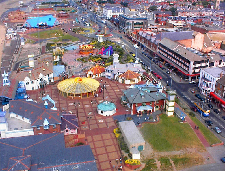 Rhyl from the Sky Tower